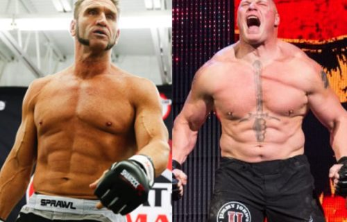 Ken Shamrock says he could've beat Brock Lesnar in a fight in his prime