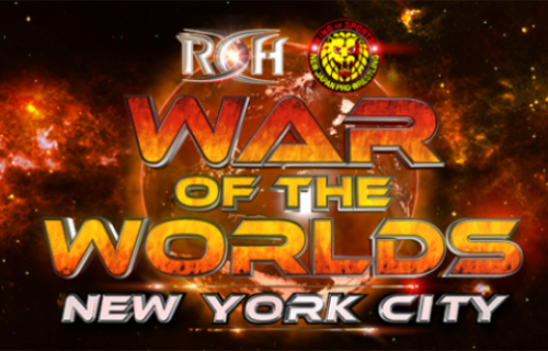 Ring Of Honor 'War Of The Worlds' PPV Card