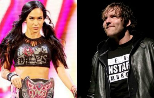 Former WWE creative writer on Dean Ambrose and AJ Lee storyline which was nixed