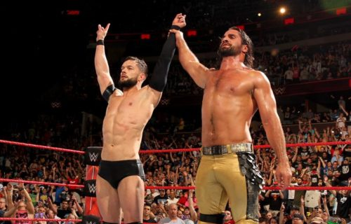 Finn Balor and Seth Rollins talk rehabbing their injuries together