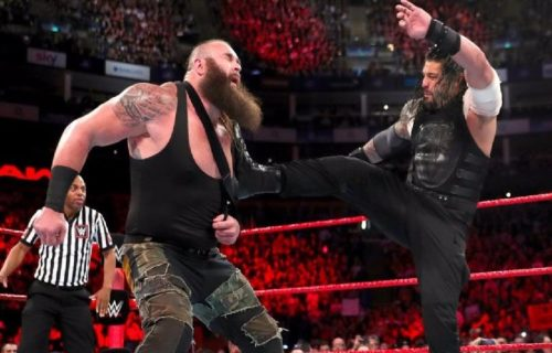 Braun Strowman sends message to Roman Reigns, shares graphic picture of his elbow injury