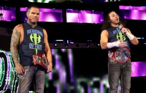 Matt Hardy and The Usos exchange interesting tweets before Backlash, start of a cross-brand feud?