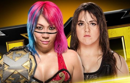 Asuka to defend NXT Women's Championship in a Last Women Standing match