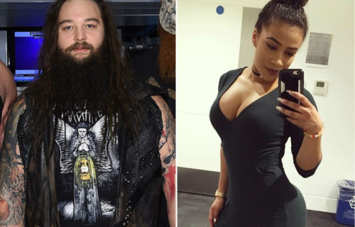 Video of Bray Wyatt and Jojo Offerman arriving at Raw together following affair allegations