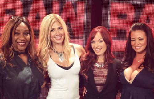 WWE Divas reunion backstage at Raw last night