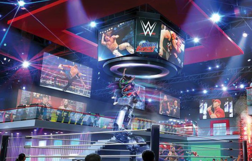 WWE possibly creating theme park attractions, TJP on getting title shot tonight on 205 Live