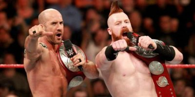 Sheamus and Cesaro Raw Tag Team Champions