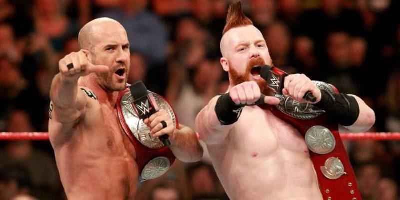 Sheamus and Cesaro Raw Tag Team Champions