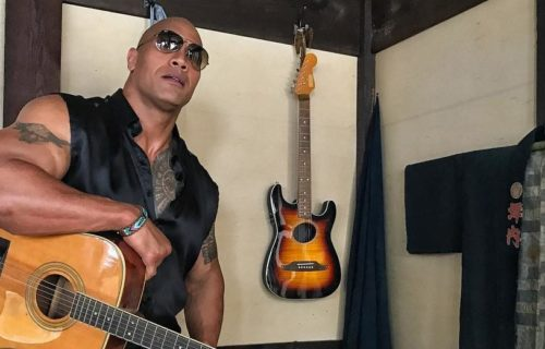 The Rock reveals latest WWE signee