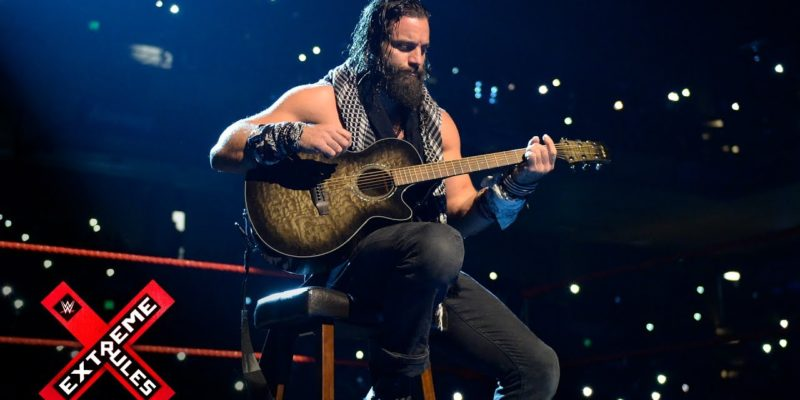 Elias Samson appeared on the main card to fill time.