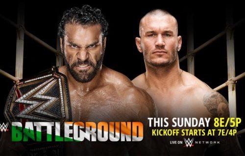 Rematch added to WWE Battleground, updated PPV card