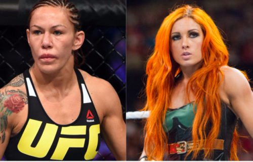 Cris Cyborg wins UFC Featherweight Title & challenges Becky Lynch to a match at WWE SummerSlam