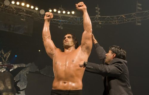 The Great Khali with Vince McMahon (photo), Jason Jordan - Miz TV preview, Curtis Axel on main-eventing RAW