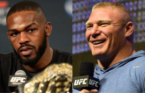 Jon Jones knocks out Daniel Cormier, calls out Brock Lesnar (video)