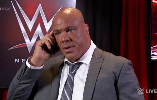 Eric Bischoff says he knows who Kurt Angle's mystery will be and tells all