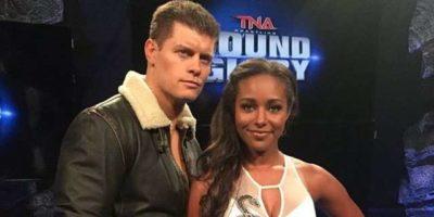 Cody and Brandi Rhodes GFW