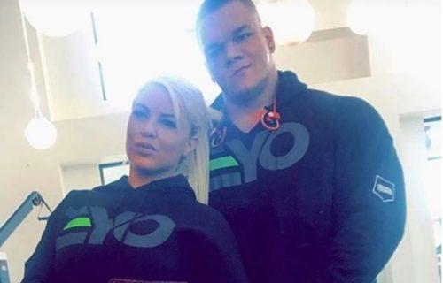 Dana Brooke responds about her boyfriend's tragic passing