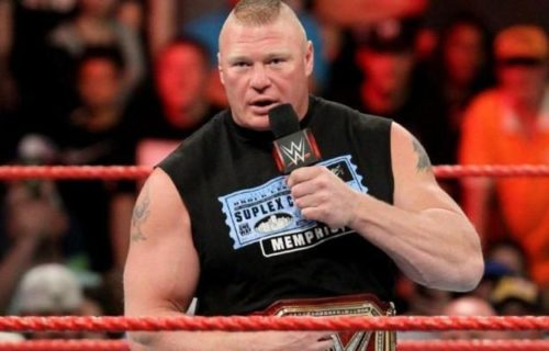 Backstage news on Brock Lesnar beating Kane in less than a minute