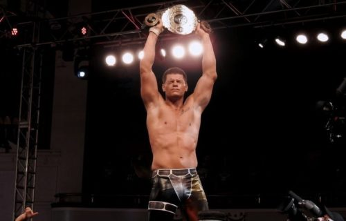 Cody Rhodes on whose idea it was to defend the NWA Championship at ALL IN