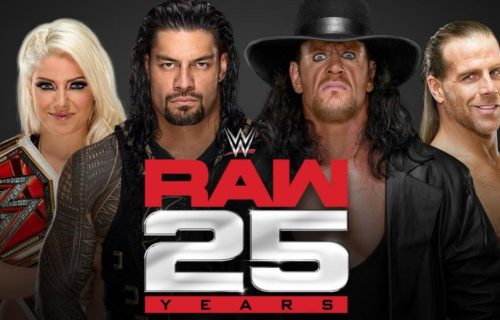 Hall Of Famer pulled from Raw 25th anniversary show