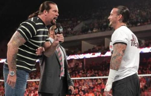 Kevin Nash on why his feud with CM Punk didn't happen