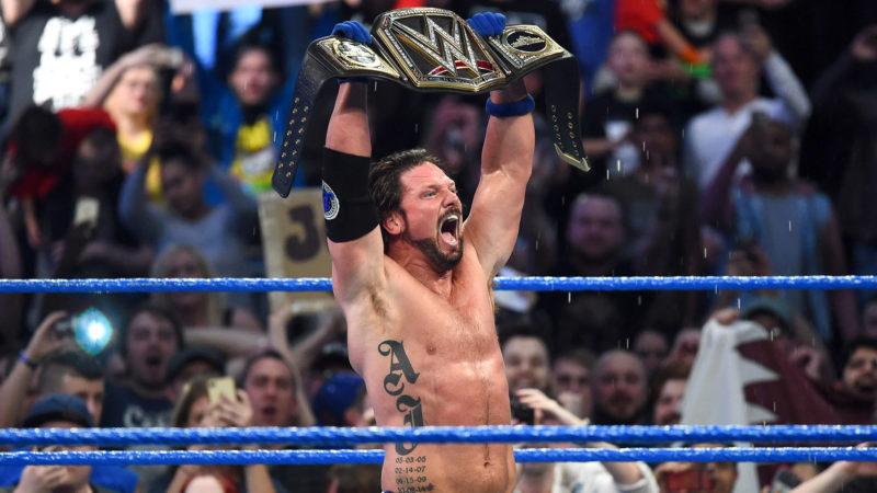 Aj-Styles-WWE-Champ-SmackDown Live