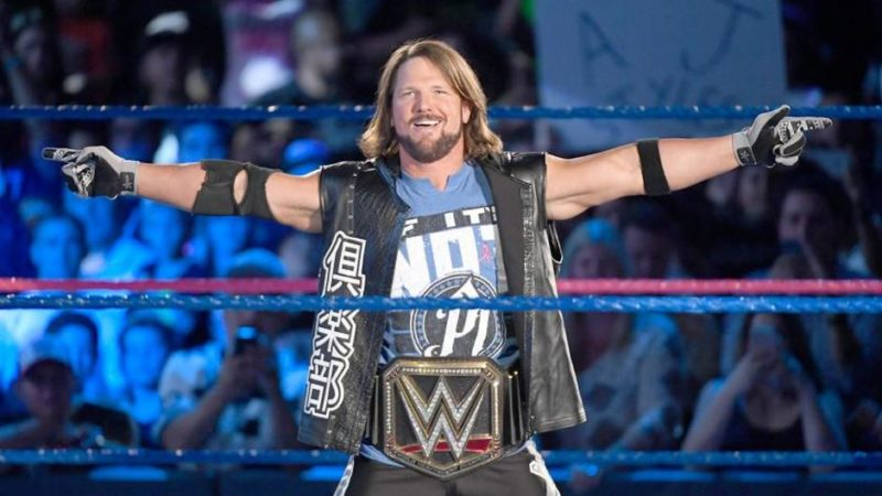 Aj-styles-WWE-Champion