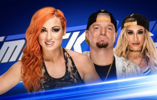 Rare cross gender match announced for tonight's SmackDown Live
