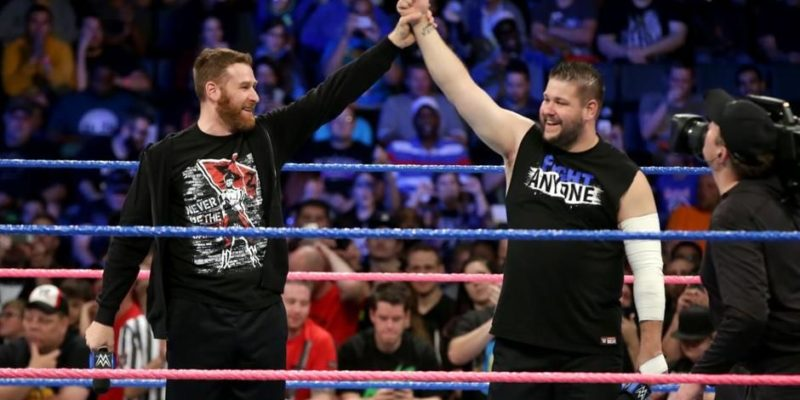 Sami Zayn and Kevin Owens WrestleMania