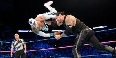 Sin Cara baron Corbin SmackDown Live