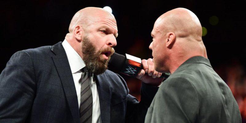 Triple H and Kurt Angle