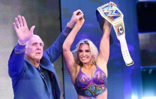 Ric Flair provides an update on Charlotte Flair's recovery