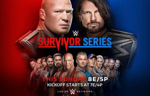 WWE Survivor Series 2017 live results: Raw vs. SmackDown for brand supremacy