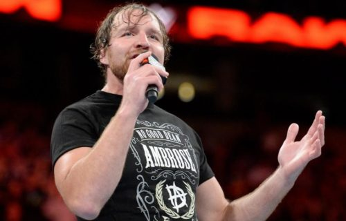 WWE has filed trademark for Dean Ambrose
