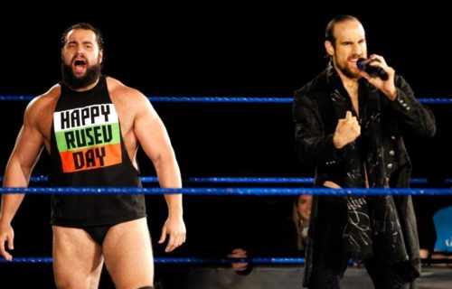 Rusev teases a split from Aiden English