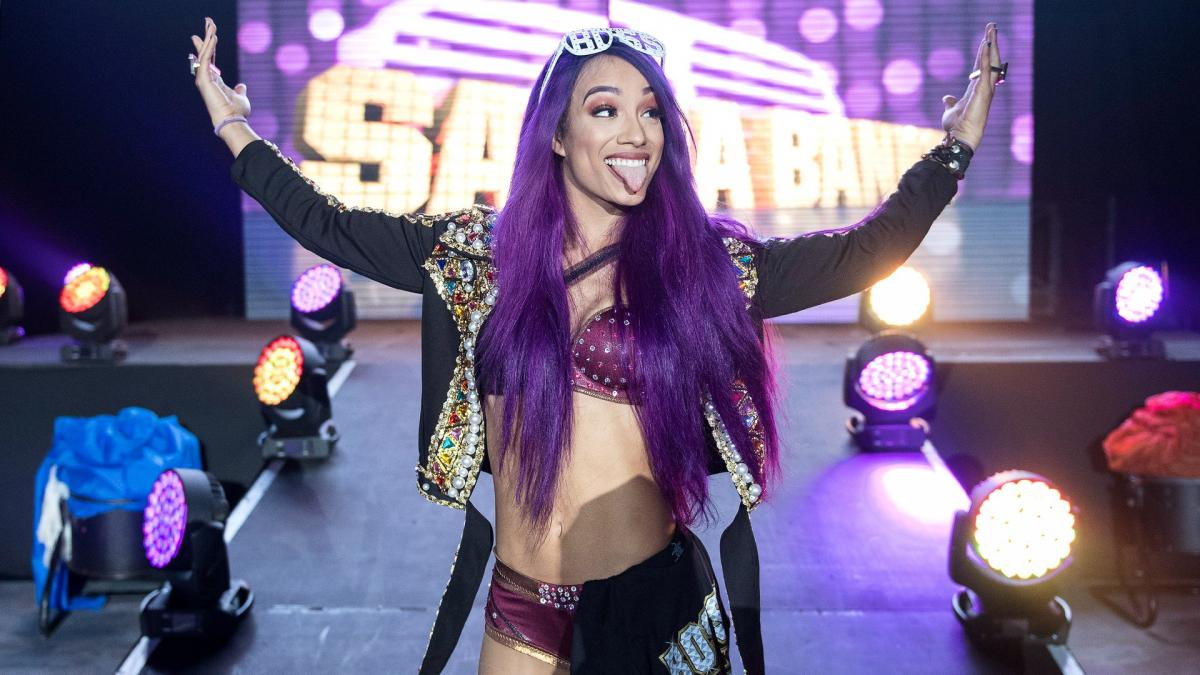 Sasha Banks on when she will retire from WWE