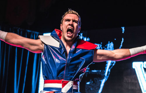 Will Ospreay calls out Neville