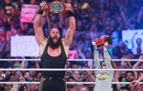 Identity of the boy who partnered with Braun Strowman at WrestleMania