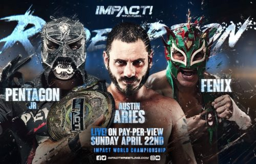 Impact Redemption PPV Results: Lucha Underground star captures Impact World Title