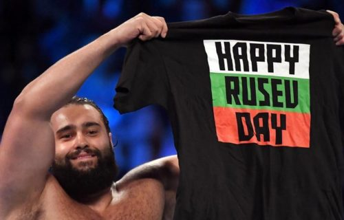 Rusev asked for release before United States Title opportunity?
