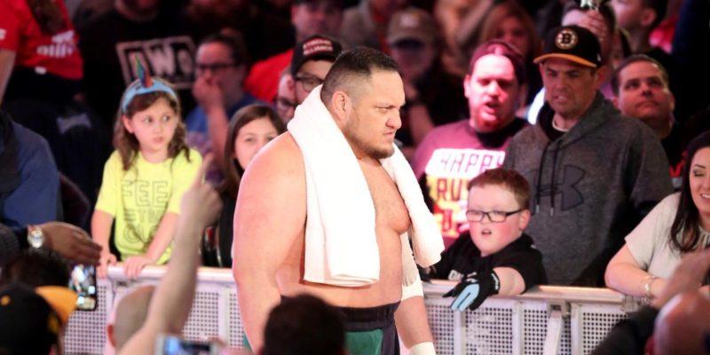 Samoa Joe superstar SHakeup