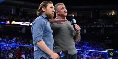 Shane McMahon and Daniel Bryan