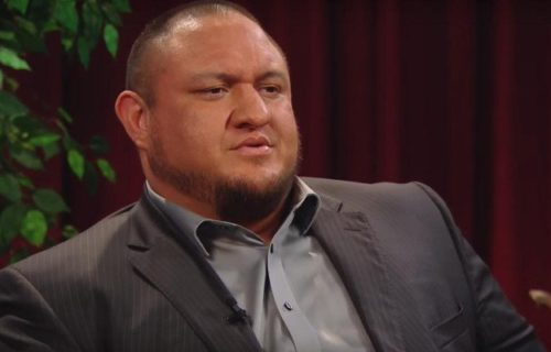 Samoa Joe Promoted For Raw With WWE Diva?