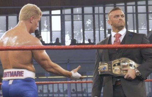 Stipulation added to Cody Rhodes vs. Nick Aldis NWA title match