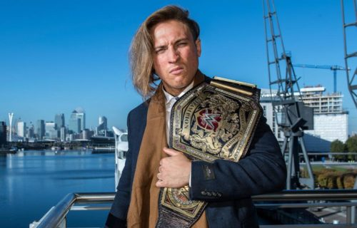 Pete Dunne's ready for the Universal Title