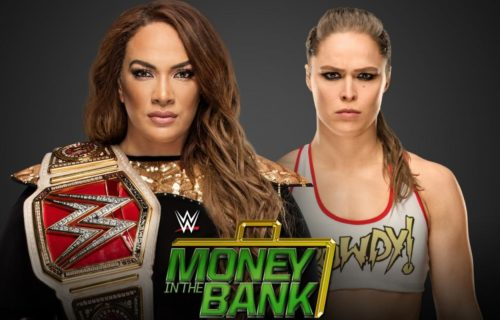 Was Ronda Rousey vs Nia Jax almost the Money in the Bank main event?