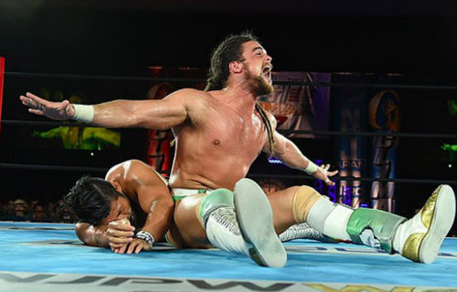 Juice Robinson becomes the new IWGP United States champion at G1 Special
