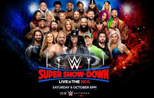 Possible spoiler for Super Show Down