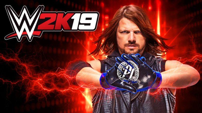 WWE2K19-AJ Styles