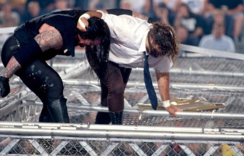 Mick Foley on his infamous Hell in a Cell match nearly 20 years later